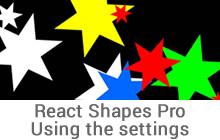 React Shapes Pro