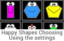Happy Shapes Choosing