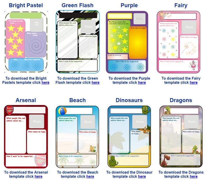 passport template word
