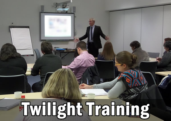 Twilight Training Sessions
